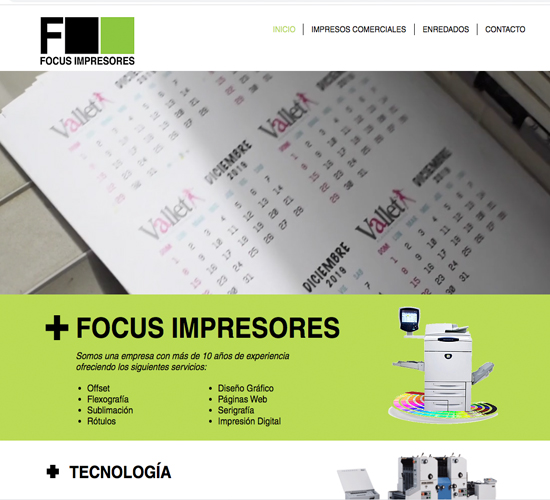 focusimpresores.com